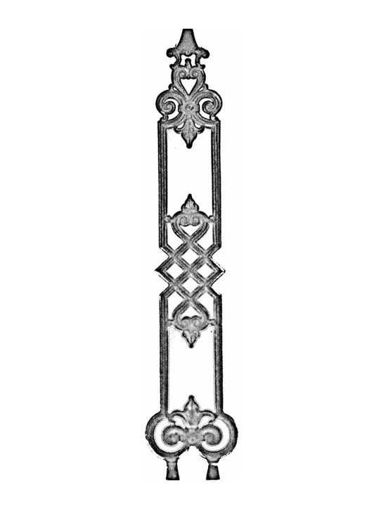 BSC1161 Ornamental Railing Panel