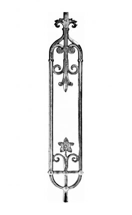 BSC1163 Ornamental Railing Panel