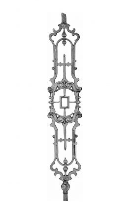 BSC1170 Ornamental Railing Panel