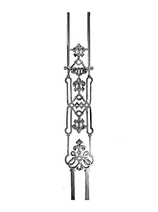 BSC1181 Ornamental Railing Panel