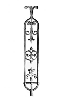 BSC1186 Ornamental Railing Panel