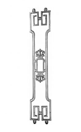 BSC1191 Ornamental Railing Panel