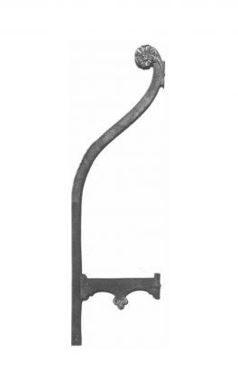 BSC13001 Metal Railing Backstay