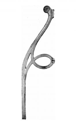 BSC13011 Metal Railing Backstay