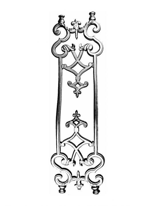 BSC2025 Bowed Baluster
