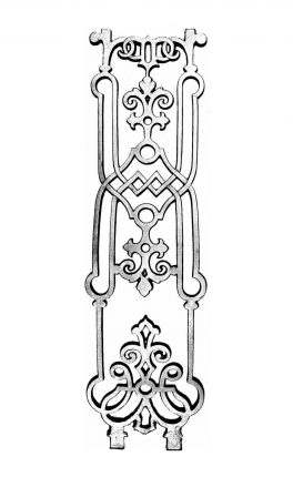 BSC2026 Bowed Baluster