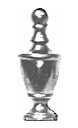 BSC5212 Railing Head Finial