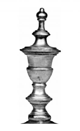 BSC5217 Railing Head Finial