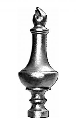 BSC5228 Railing Head Finial