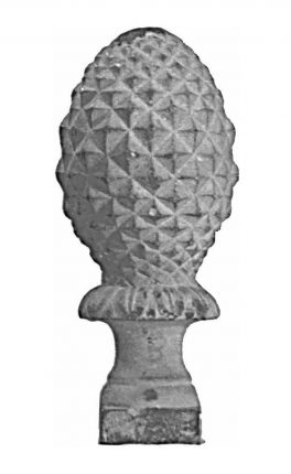 BSC5264 Railing Head Finial