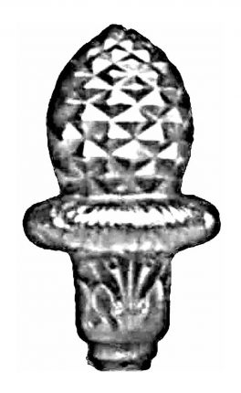 BSC5268 Railing Head Finial