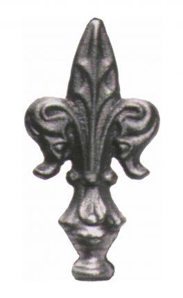 BSC6063 Railing Head Fleur De Lis