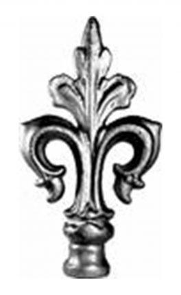 BSC6094 Railing Head Fleur De Lis