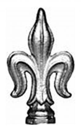 BSC6099 Railing Head Fleur De Lis