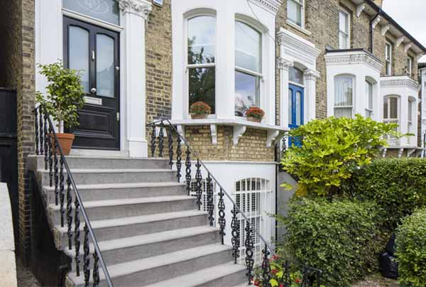 London Wrought Iron Railing