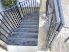 Lightwell staircase georgian