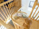 Solid Ash Spiral Staircase
