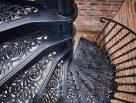 External Victorian Spiral Stairs