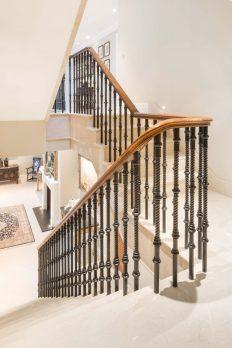 Cast Iron Staircase Balustrade