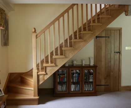 Winder Staircase Wood