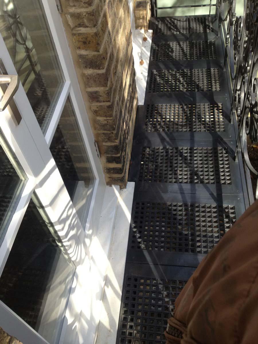 Metal Georgian Balcony