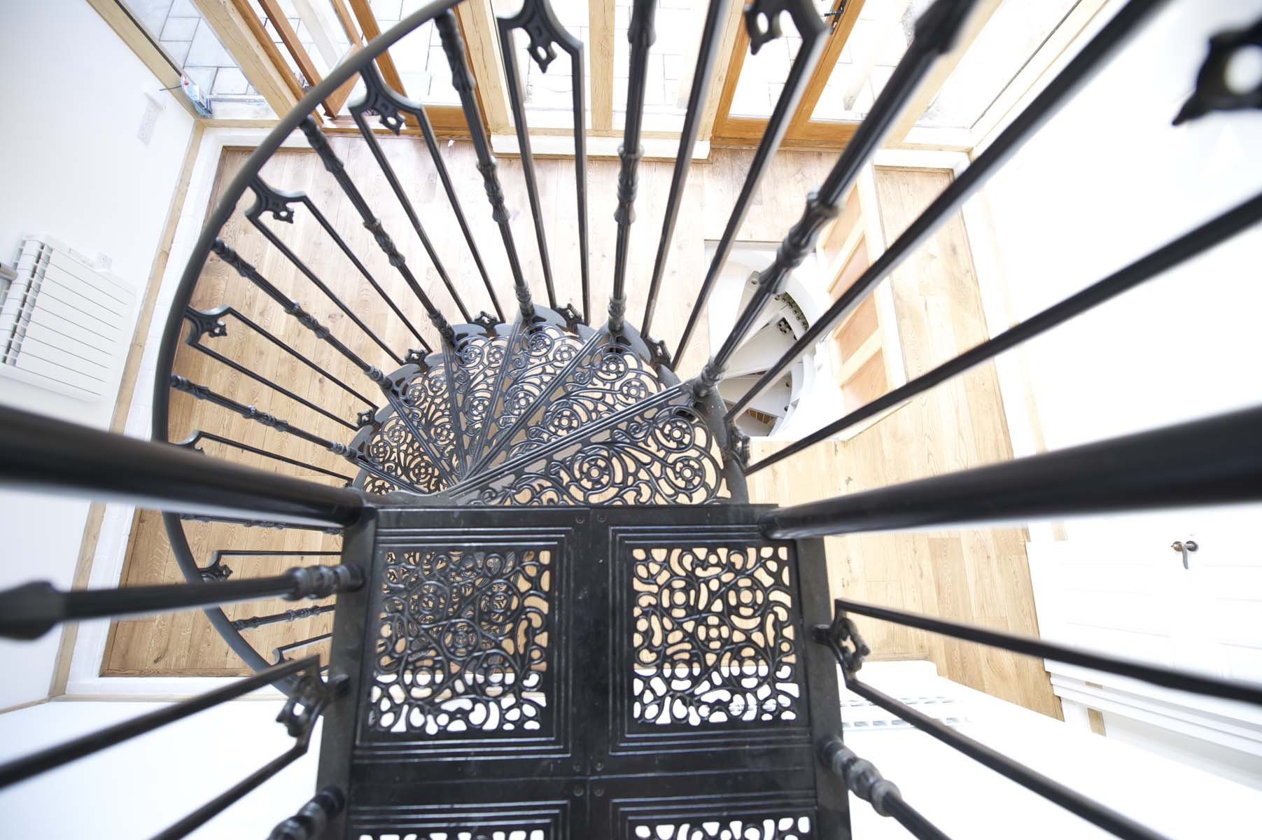 Victorian Cast Metal Staircase