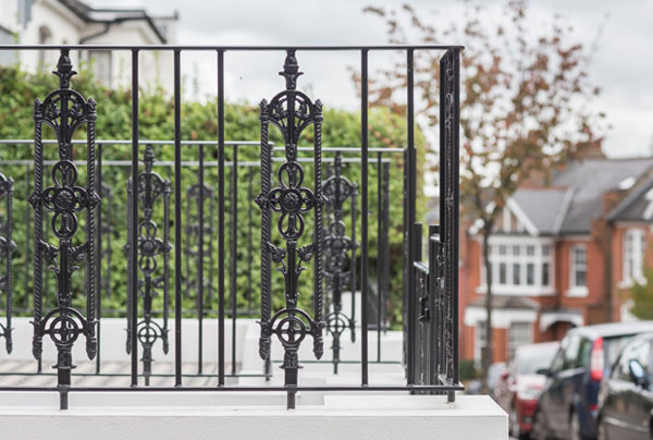 Edwardian Iron Railings