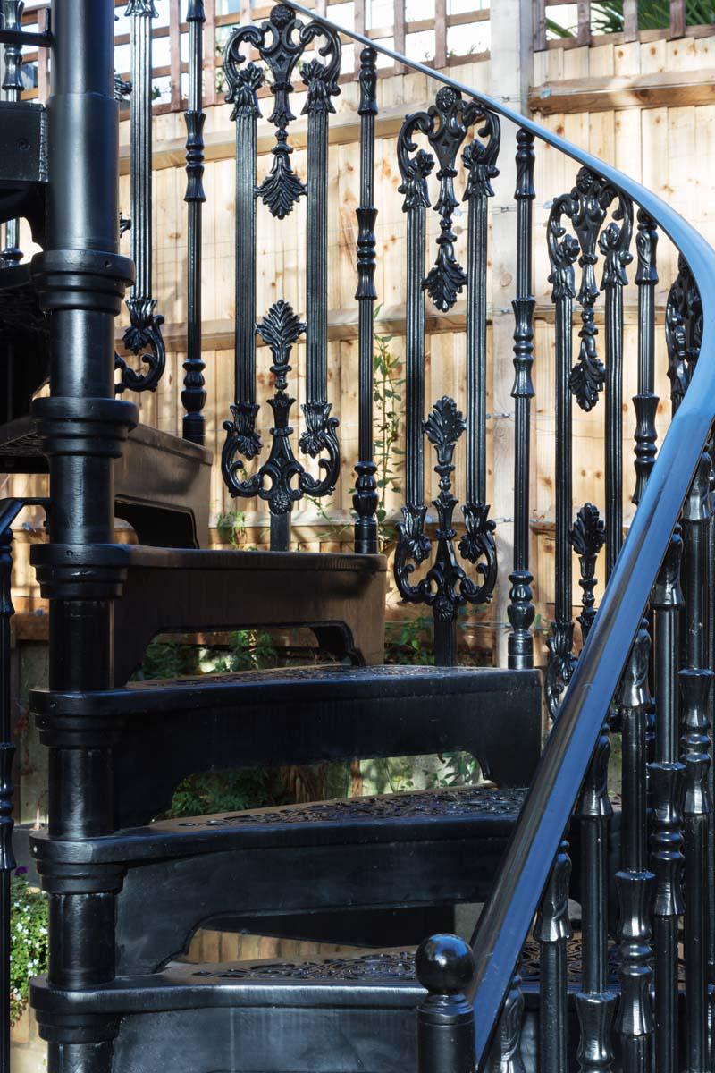 Victorian exterior staircase