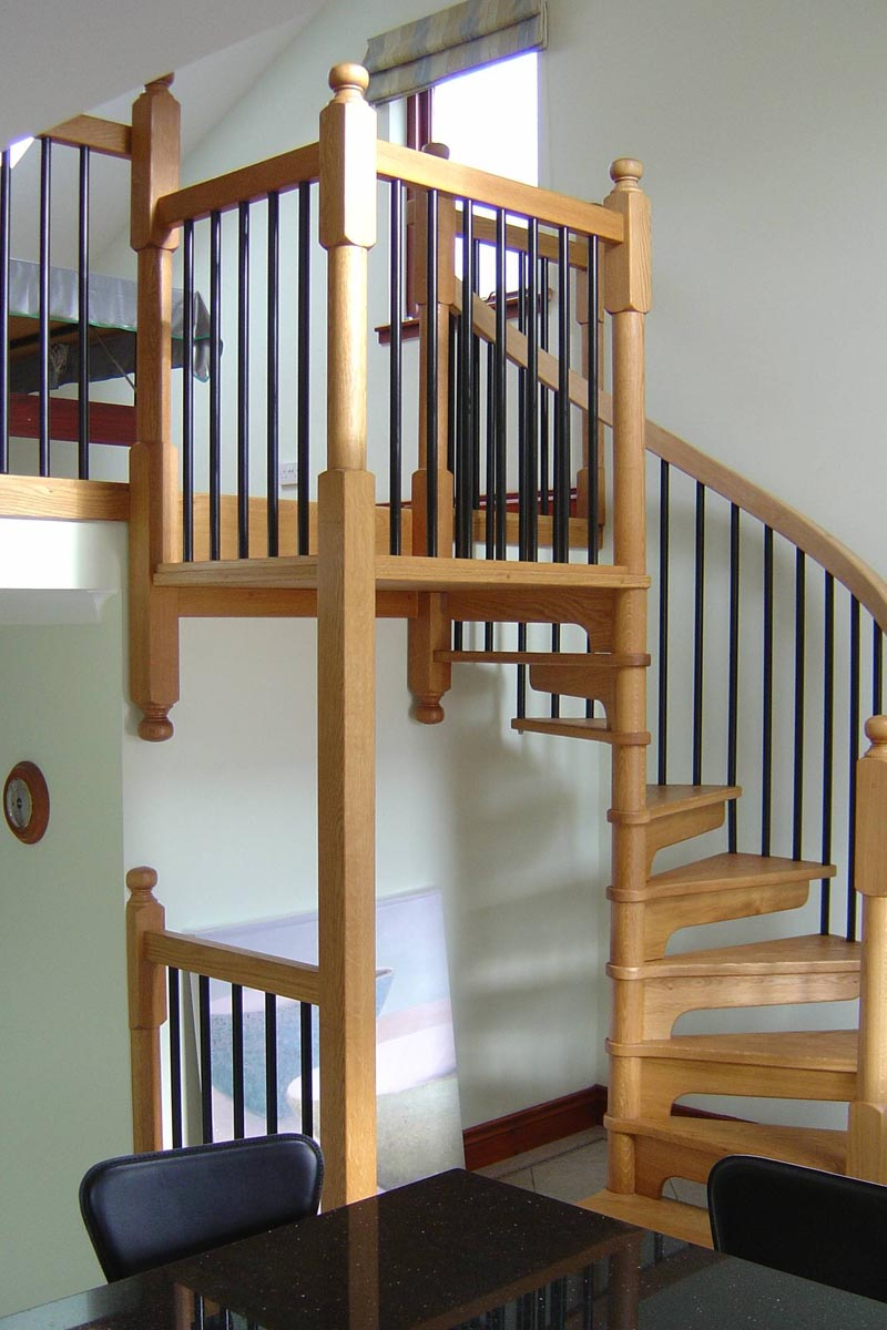 solid wood staircases