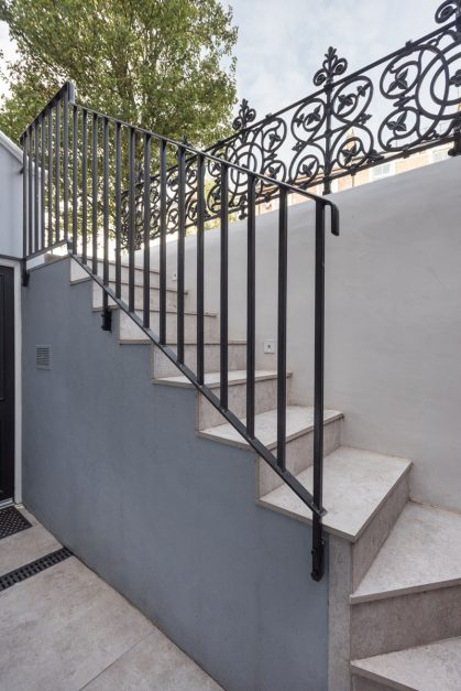 London Cast Iron Balustrade