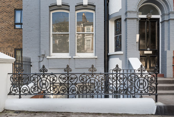 London Cast Iron Railing