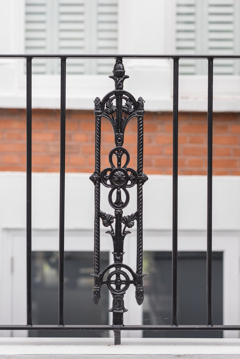 Replacement Wrought Iron Railings