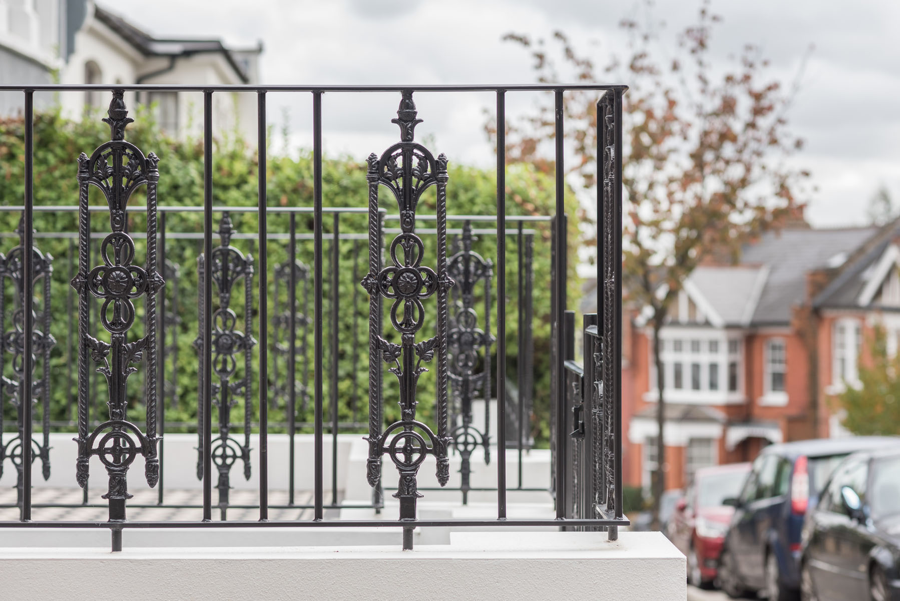 Wrought Iron Railings British Sprials Castings London