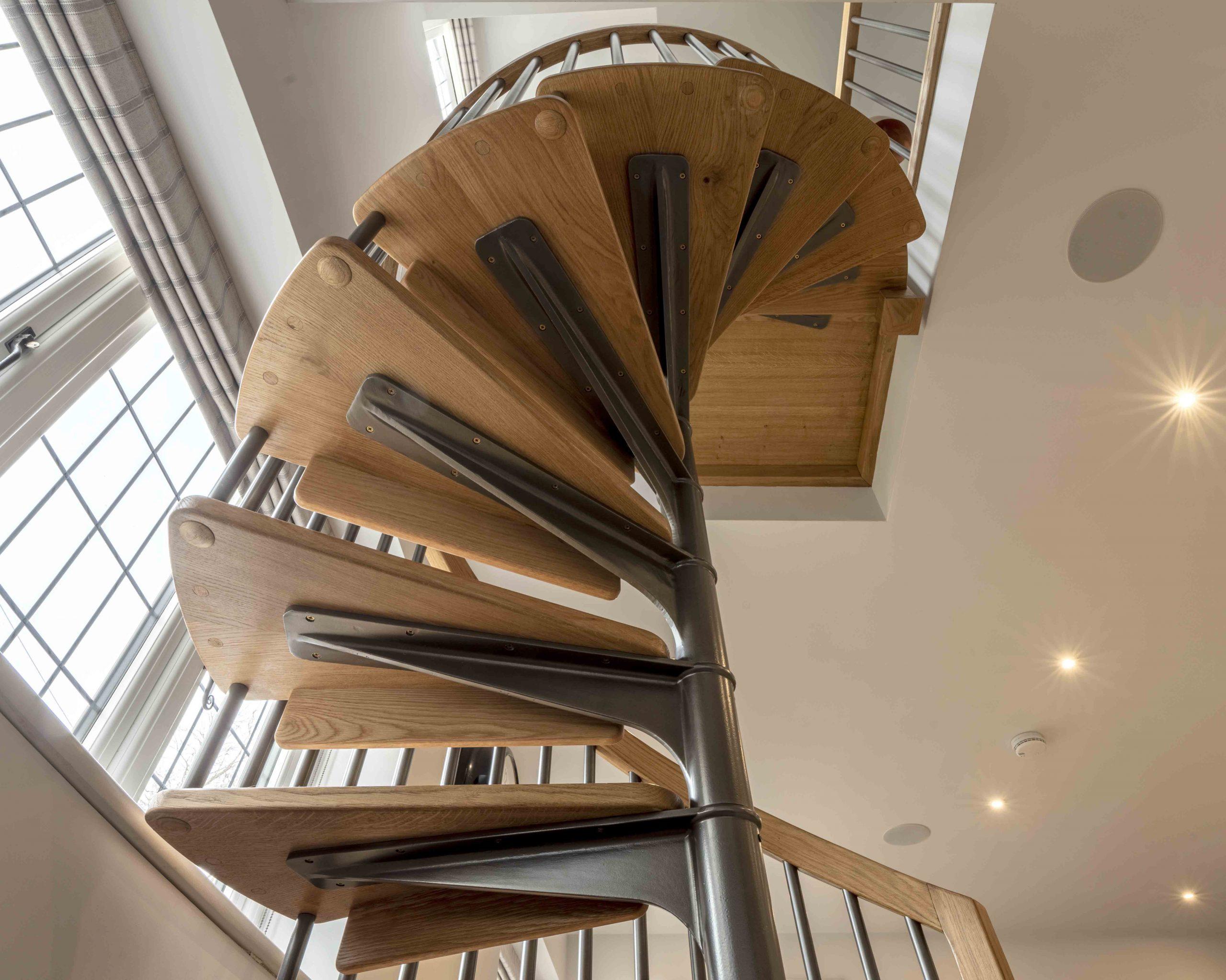 Scandinavian Spiral Staircase