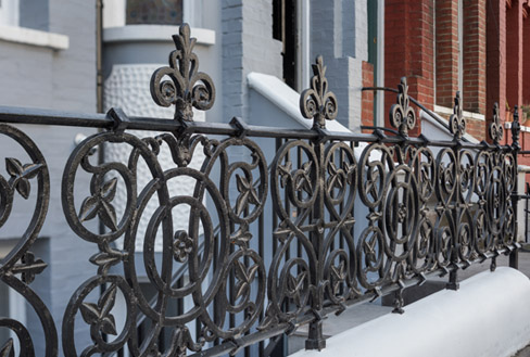 Cast and Wrought Iron Railings