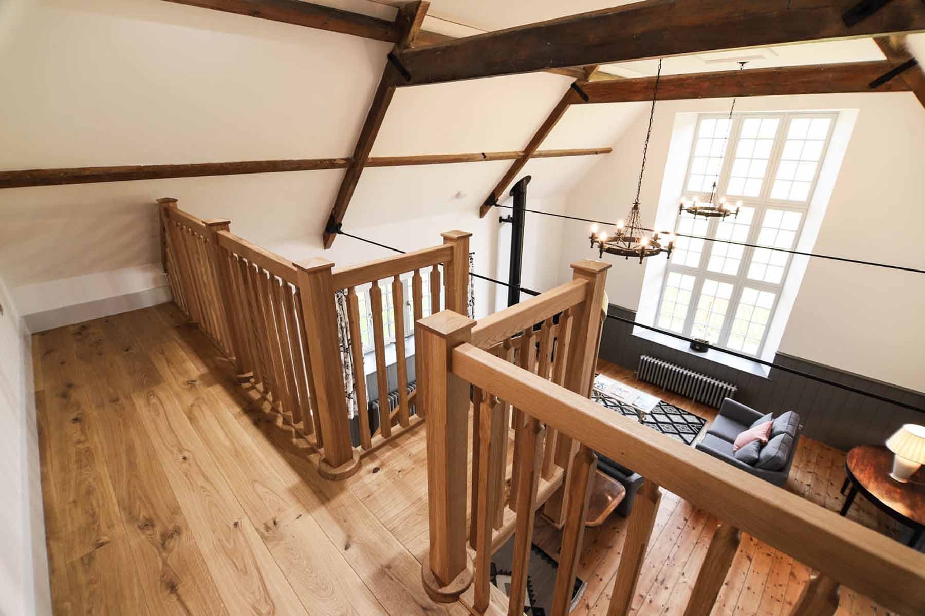 Solid Timber Balustrade