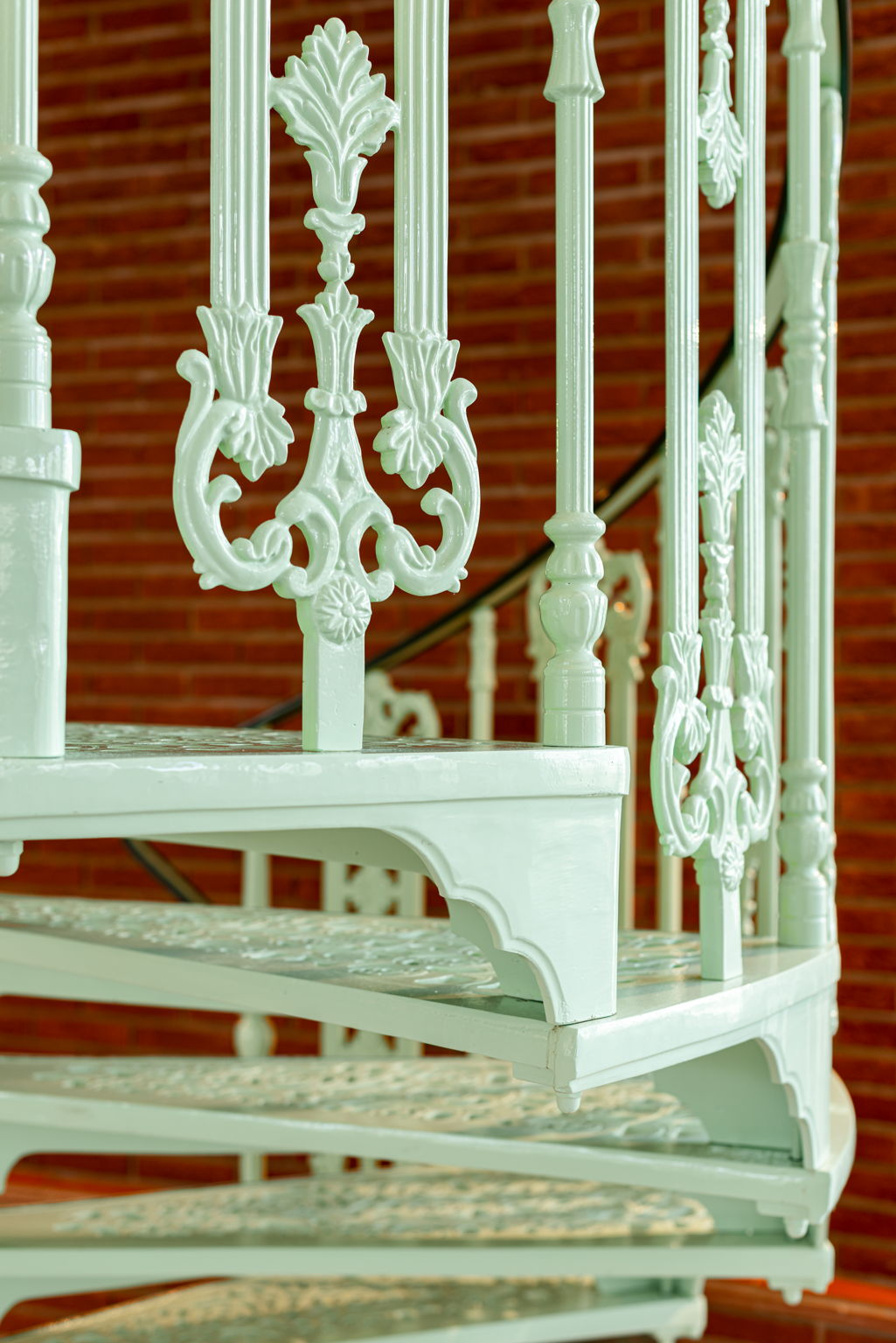 Two Victorian Spiral Staircases